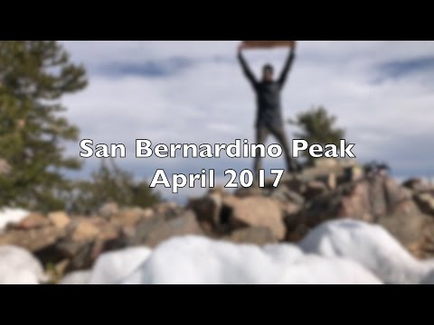 Solo in the Snow: San Bernardino & East San Bernardino Peaks