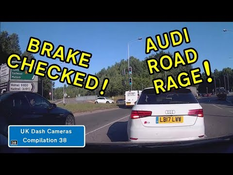 UK Dash Cameras - Compilation 38 - 2018 Bad Drivers, Crashes + Close Calls