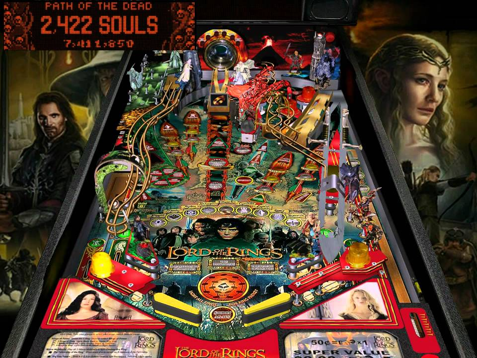 Visual Pinball: The Lord of the Rings