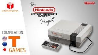 The NES / Nintendo Entertainment System Project - Compilation T - All NES Games (US/EU/JP)