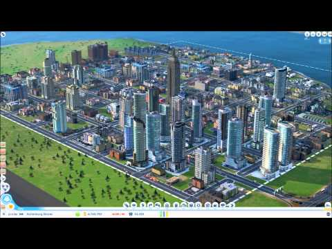 • SimCity 2013 - Time Lapse - 0 to 230,000 Population •