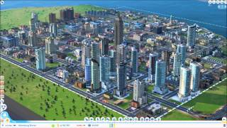 simcity 2013 time lapse 0 to 230000 population
