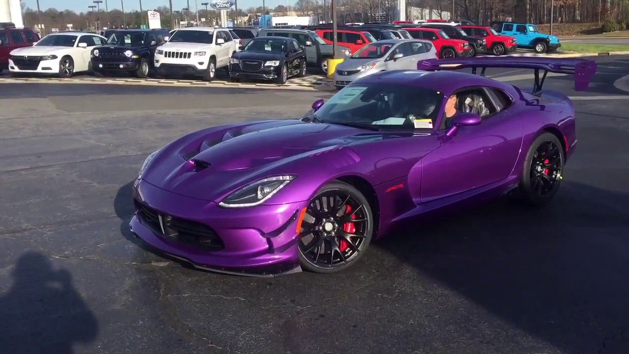 2017 Dodge Viper Acr Solid Edition 013 17 Gerry Wood
