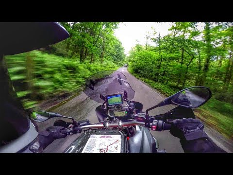 Tour of the North by BMW R1200GS - Ep 1 Home to Hardknott Pass