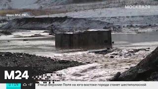 Большегруз снес две игровые площадки в Ханты Мансийске   Москва 24