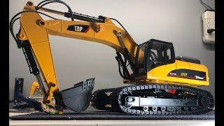 Top Race 1580 All Metal Rc Excavator Unbox/showing