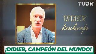Didier Deschamps, campeón del mundo, clase 2019 del Salón de la Fama | TUDN
