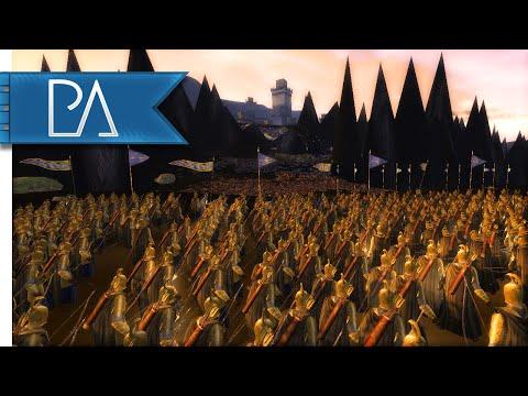 EPIC SIEGE OF CARN DUM - Third Age Total War Gameplay