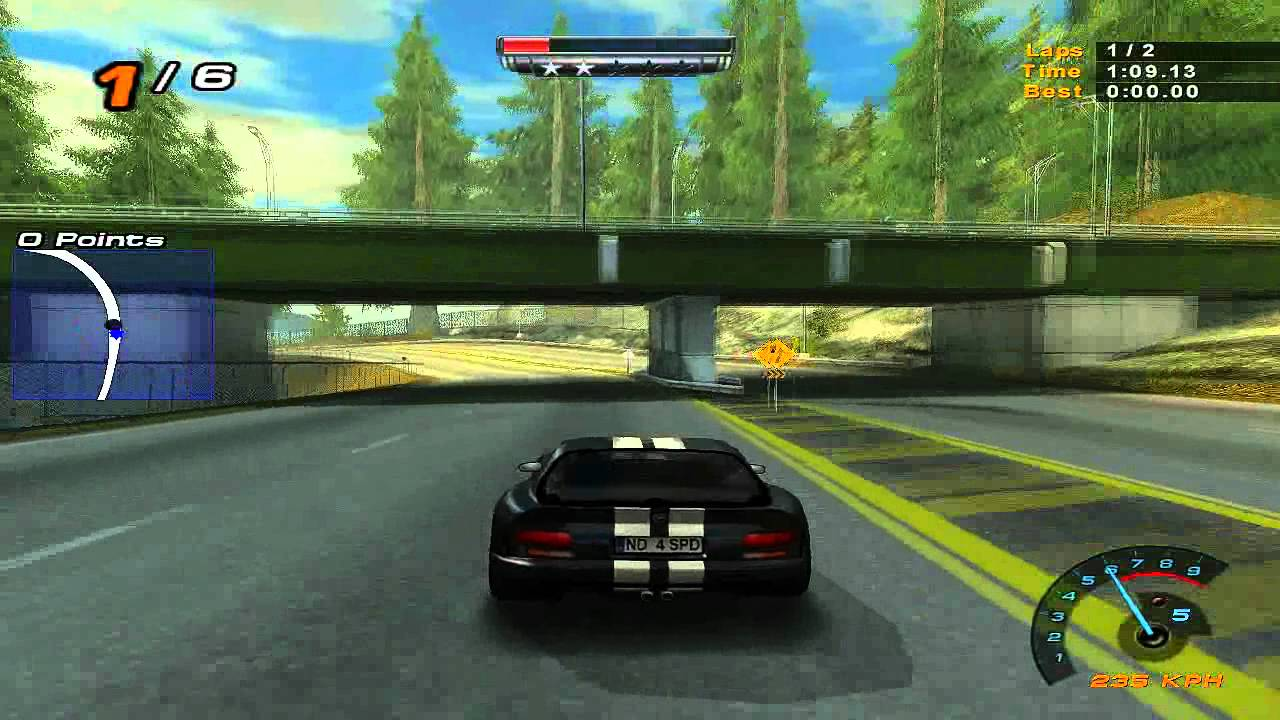 Need For Speed Hot Pursuit 2 Dodge Viper Gts Hd Youtube