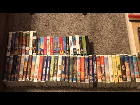 My Walt Disney Home Entertainment Vhs Collection 2019 Edition Youtube