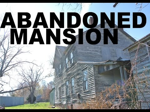 EXPLORING ABANDONED MANSION (building #7)