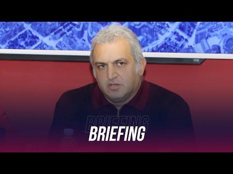 Artur Soghomonyan's Briefing