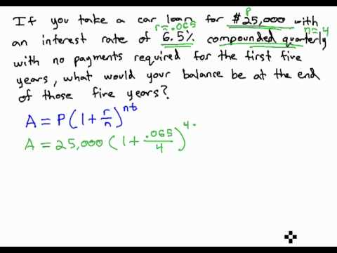 how to work out the compound interest logerithm