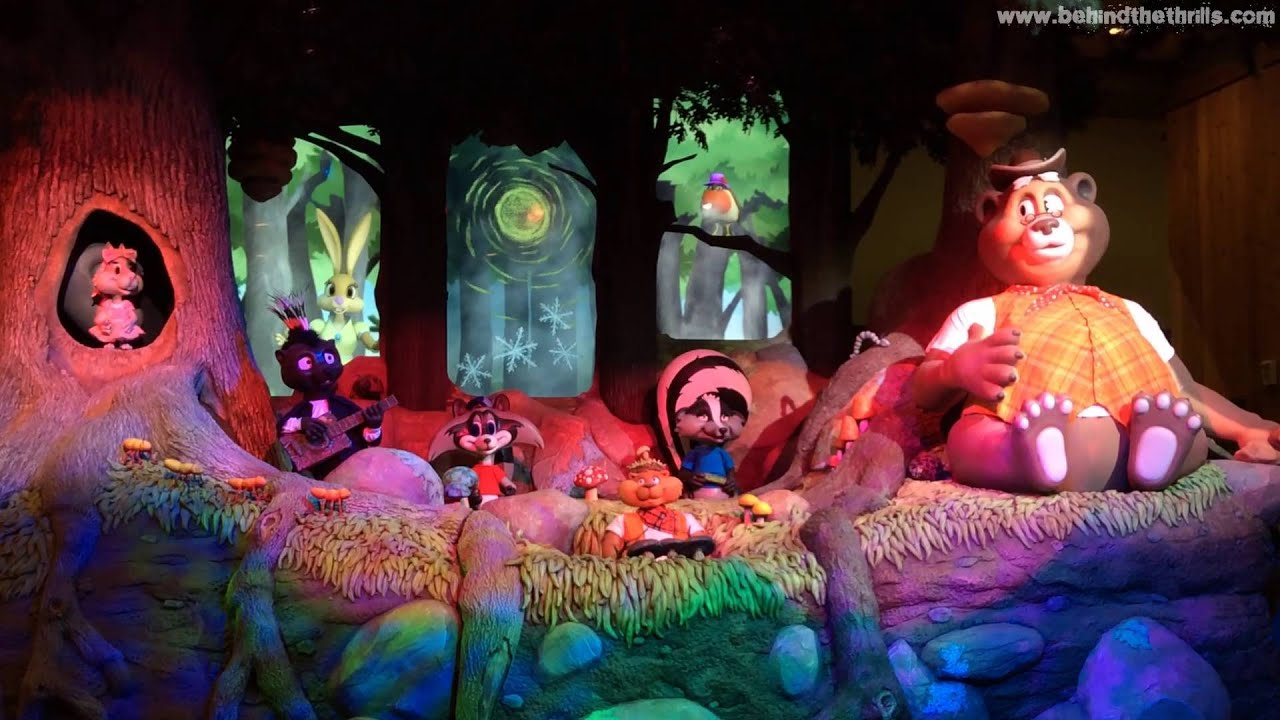 Great Wolf Lodge Socal Animatronic Forest Friends Show