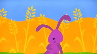 Nyuszi ül a fűben (Gyerekdalok és mondókák, rajzfilm gyerekeknek)