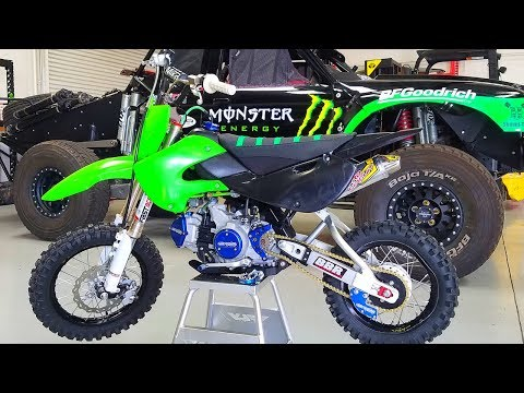 KLX110 Full Mod Build | Parts Review | Part 10 - YouTube