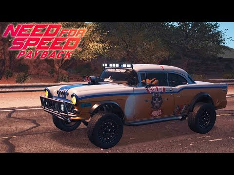 SUPER TUNEO TODOTERRENO A 300! NEED FOR SPEED PAYBACK