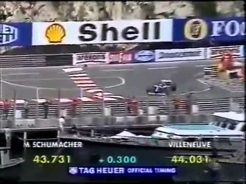 F1 1997 Monaco Grand Prix Qualifying