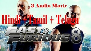 The Fate of the Furious 2017 full movie dwonload in Tamil + Telugu + Hindi