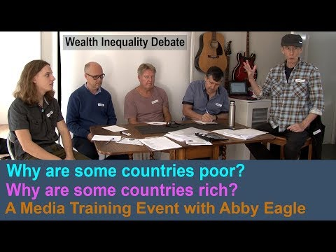 Wealth Inequality - Why poor and rich countries?