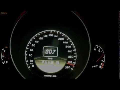 C 63 AMG Coupé Black Series Top Speed 0-307 km/h Sound Mercedes Test sport auto