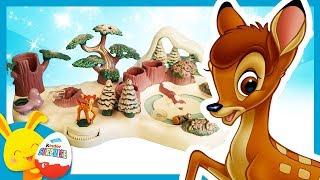 Histoire Polly Pocket - Bambi et les vacances à la neige - Disney - Touni Toys Titounis