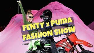 FENTY x PUMA Fashion Show + BEHIND THE SCENES