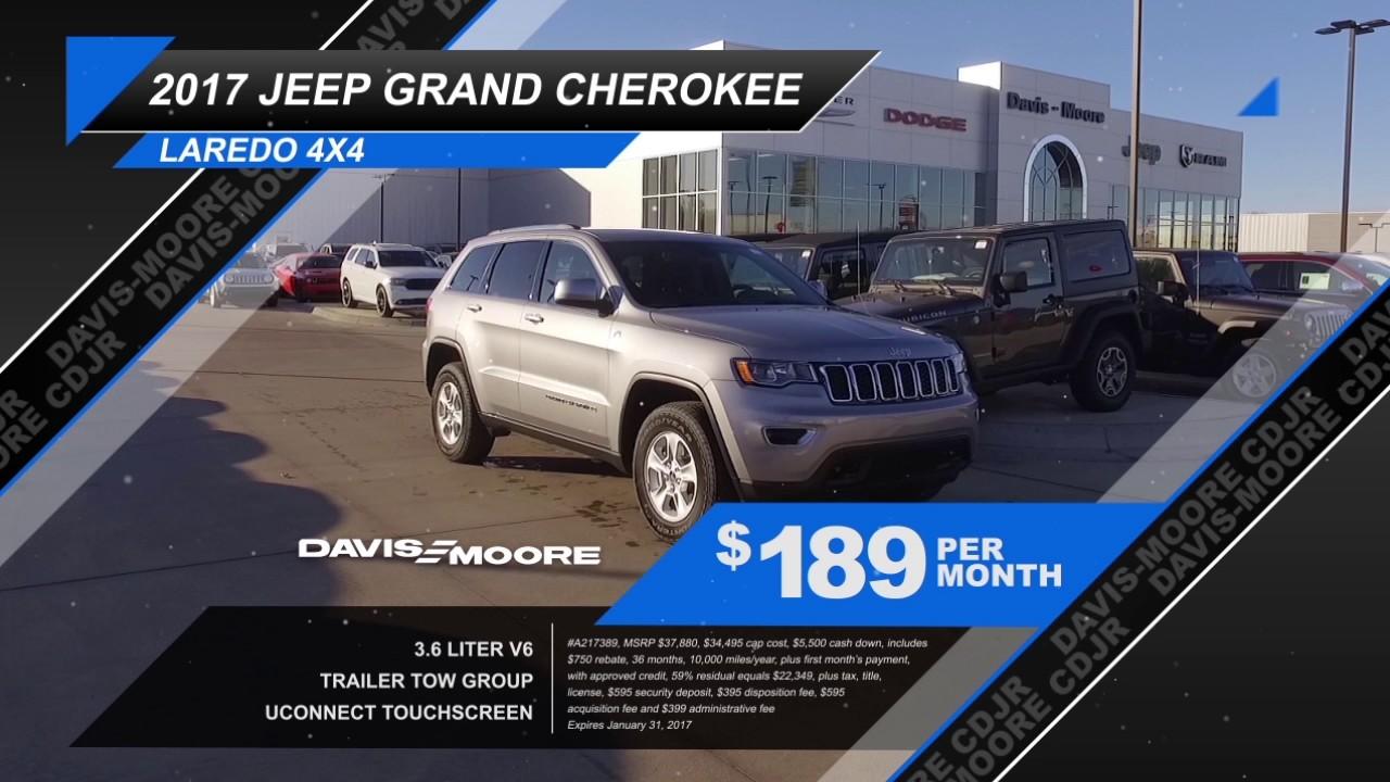 davis moore cdjr lease a jeep cherokee latitude only 159. Black Bedroom Furniture Sets. Home Design Ideas