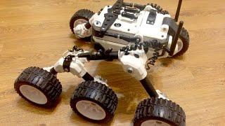 Martian rover made on 3d Printer (Mars rover)