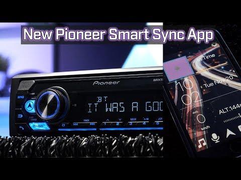 Pioneer MVH-S310BT with Pioneer Smart Sync App