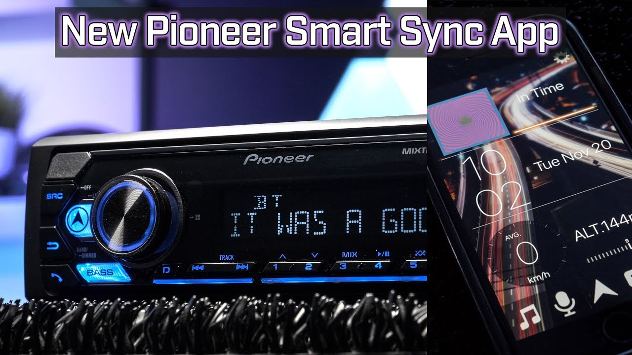 Pioneer Mvh S310bt With Pioneer Smart Sync App