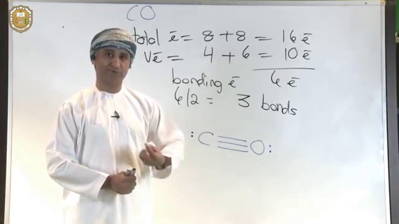 Carbon Monoxide Lewis Structure  Another Method