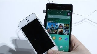 sony xperia z2 vs iphone 5