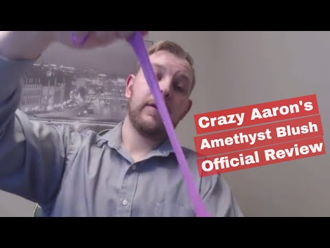 2018 Official Guy Reviews - Crazy Aaron's Thinking Putty - Amethyst Blush