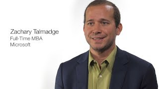 Alumni Careers: Zachary Talmadge, Full-Time MBA