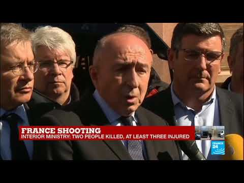 France Shooting; Watch The French Interior Minister Gérard Collomb's Press Conference
