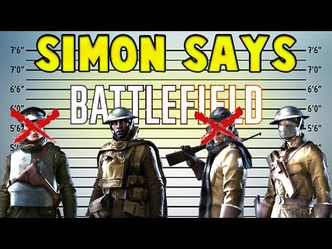 SIMON SAYS ! GAME - Battlefield 1 - VERY FUNNY - Barrot Says ! 😆