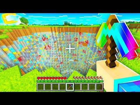 Minecraft MAIS je mine des biomes entiers ! (c'est cheat)