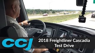 2018 Freightliner Cascadia Test Drive