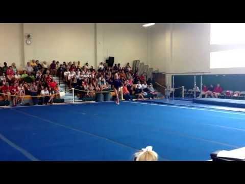 LHSAA gymnastics high school state. Hayden Floor