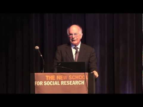 Annual Hans Maeder Lecture With Nobel Prize-Winning Psychologist Daniel Kahneman | The New School
