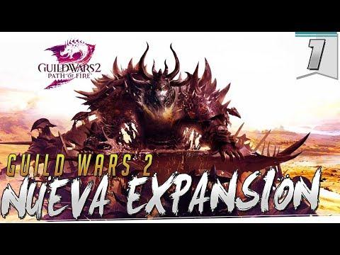GUILD WARS 2 PATH OF FIRE   Capitulo 1   Nuevas aventuras y clan para que os unáis !!