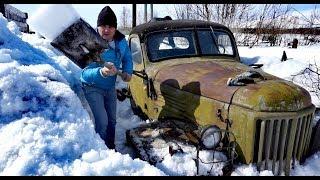 Нашёл 5 тонн железа под снегом. Попробуем оживить. Кракен 1