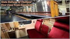 [SRT] First Class Train Experience Onboard 'Isan-Wattana'