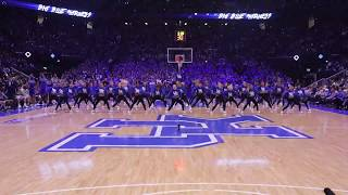 The University of Kentucky Dance Team performs at Big Blue Madness 2018