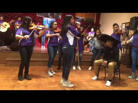 Freshman Mariachi Live at Wenatchee Valley Museum MLK Day