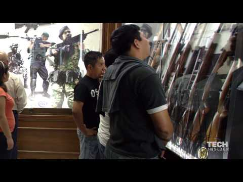 Mexico's only gun store