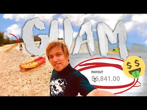 GUAM VLOG | $6,841 IN ONE DAY WHILE TRAVELING?