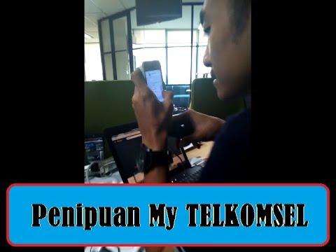 Penipuan My Telkomsel Penipu Menelpon Karyawan Telkomsel Youtube
