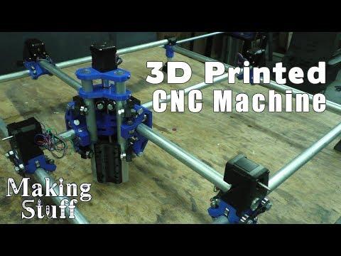Assembling a MPCNC (Mostly Printed CNC) Part 1